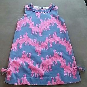 Lilly Pulitzer girls size shift dress giraffes